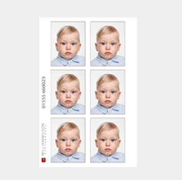 Child passport photos