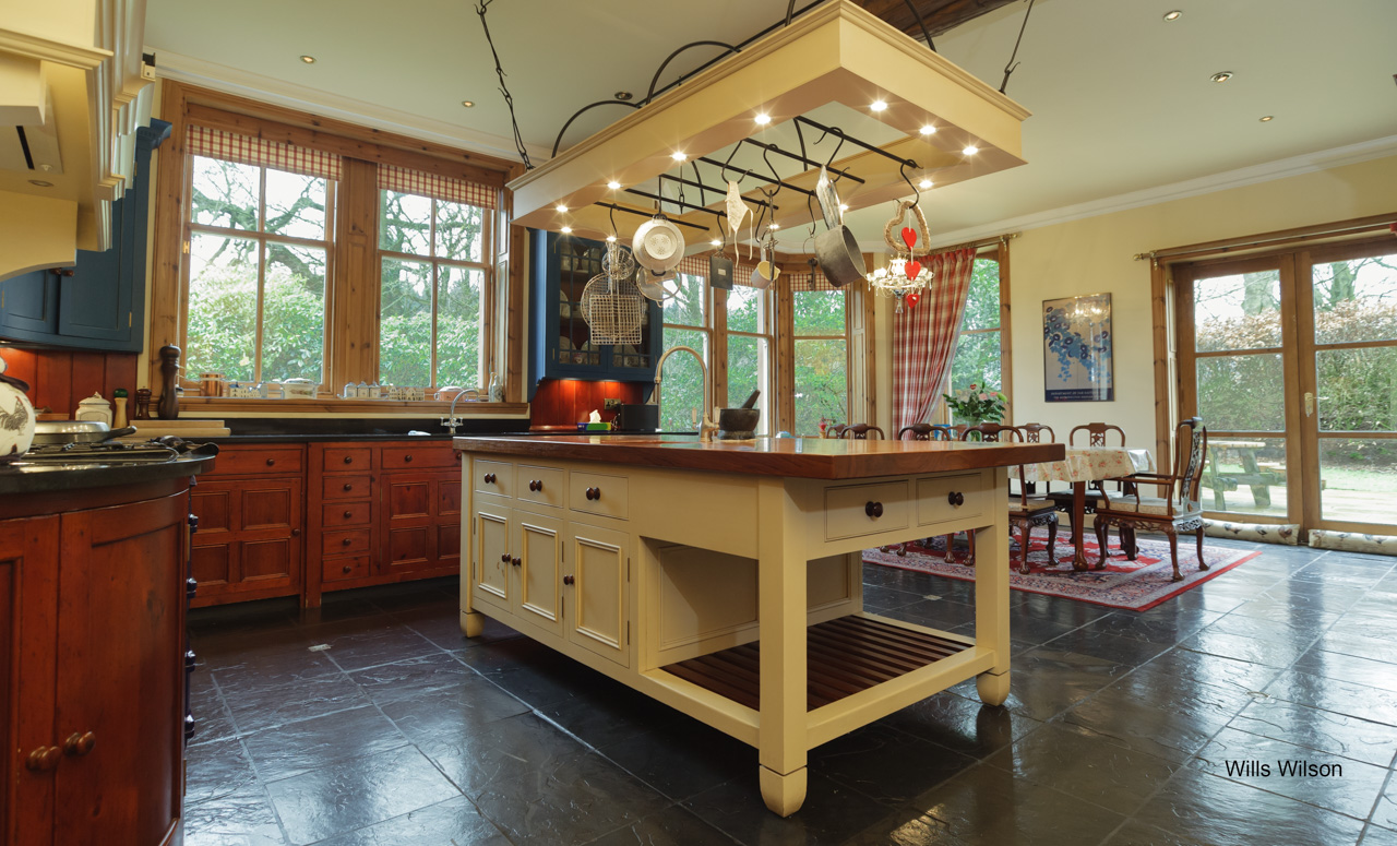 Real estate Country kitchen photography
