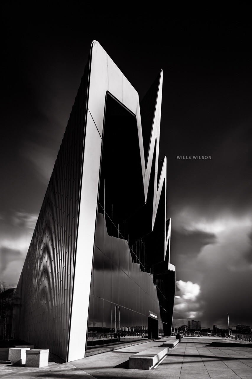Long exposure architectural photography