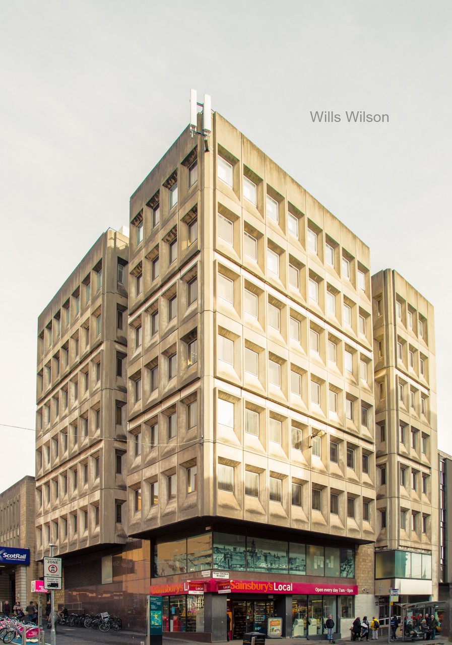 Brutalist architecture in Glasgow