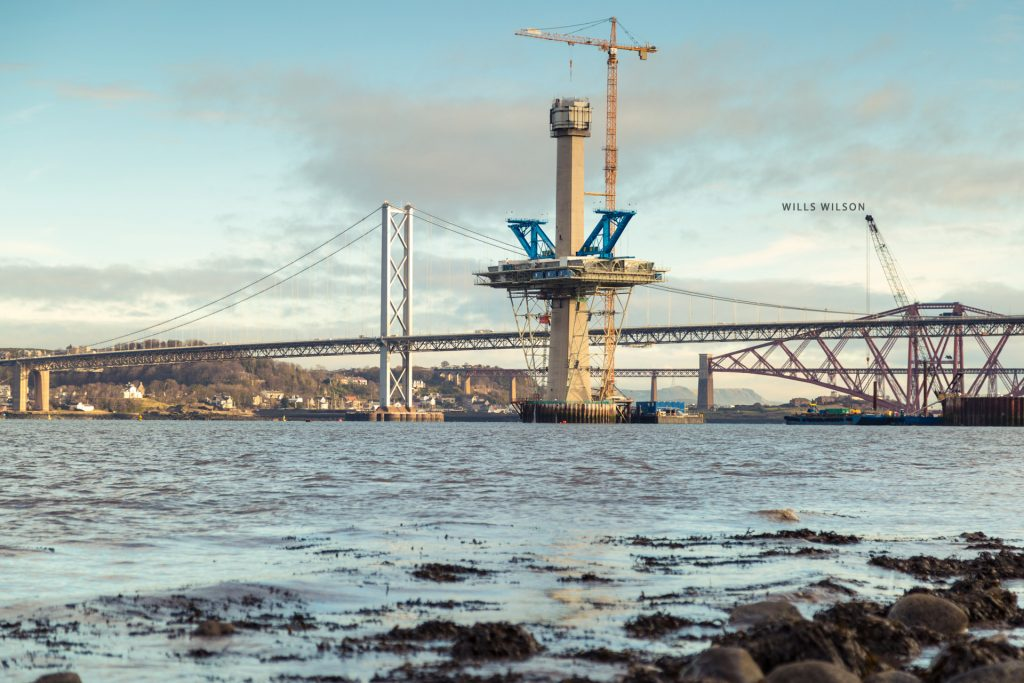 New work the Queensferry Crossing