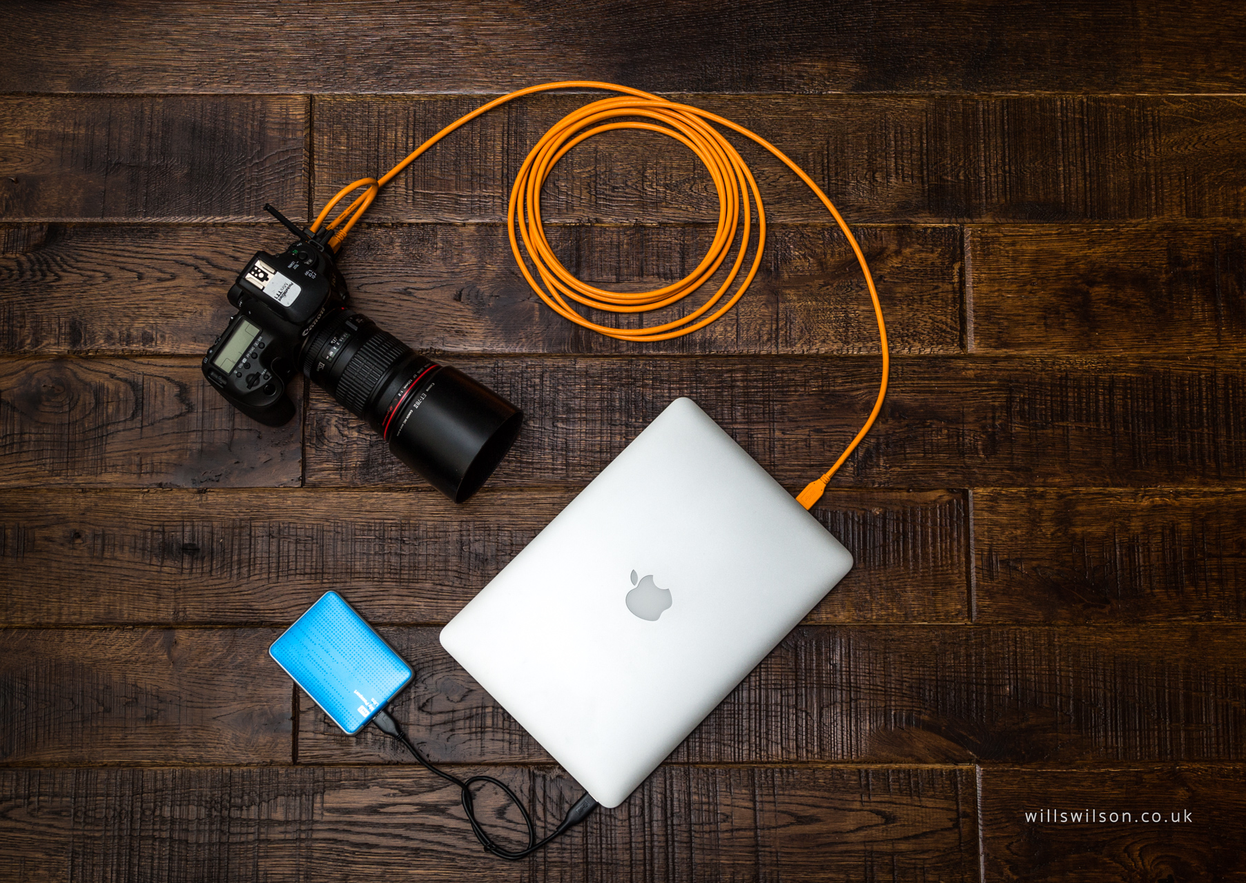 TetherTools USB 3 super cable for the Canon 5Ds and MacBook Pro