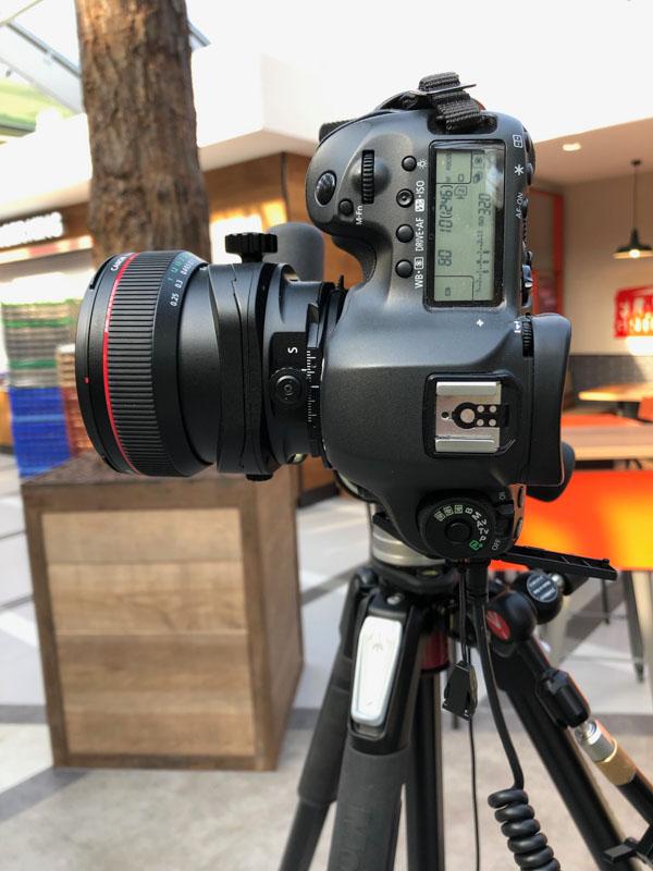 Canon 17mm TSE